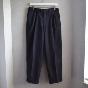Burberry Vintage Wool Trouser Dress Pants Size 31